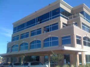 High Rise Window Cleaning in Los Angeles, California