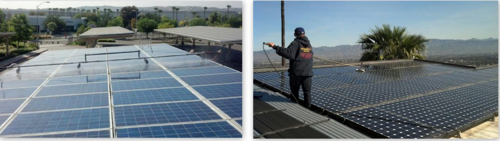 Solar Panel Cleaning in California