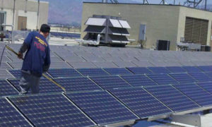 Solar Panel Cleaning in Los Angeles
